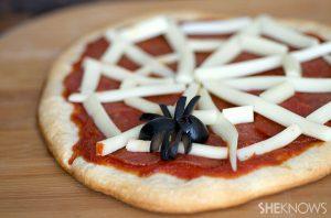 Spiderweb pizza